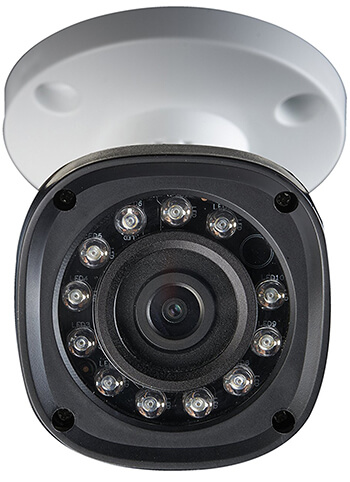 closeup of Lorex camera