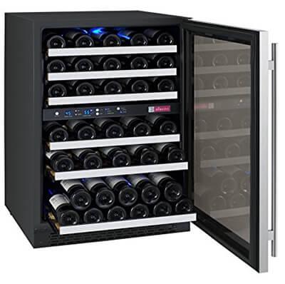 allavino dual zine wine cooler