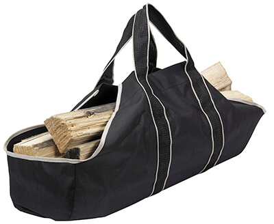 panacea fire pit log tote