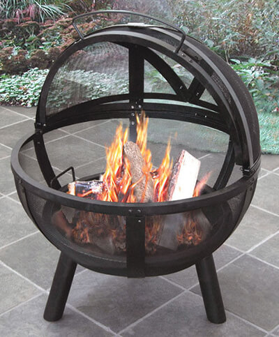landmann usa ball of fire fire pit