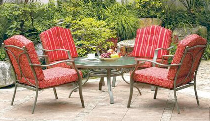 mainstay outdoor fire pit patio set