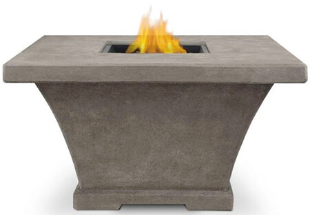 real flame monaco modern fire pit