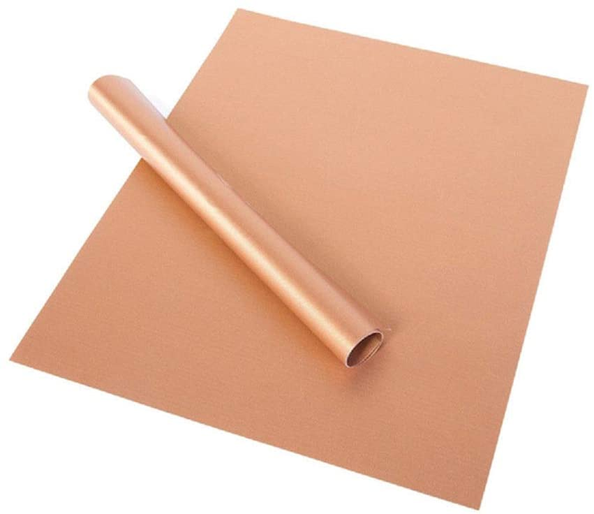 The copper kitchen bbq grill mats and free basting brush