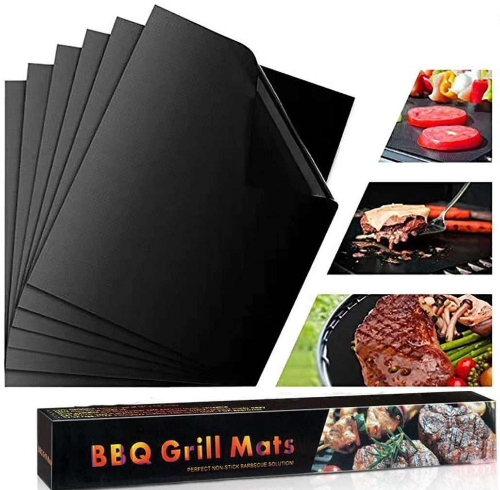 Kitma bbq grill mats, set of 6