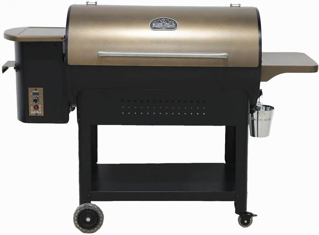 Ozark wood pellet grill and smoker