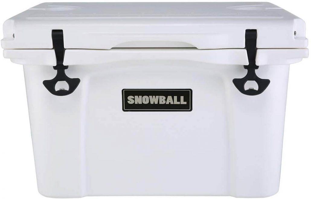 Snowball 37 quart rotomolded cooler
