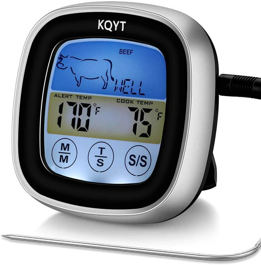 KQYT digital meat thermometer.