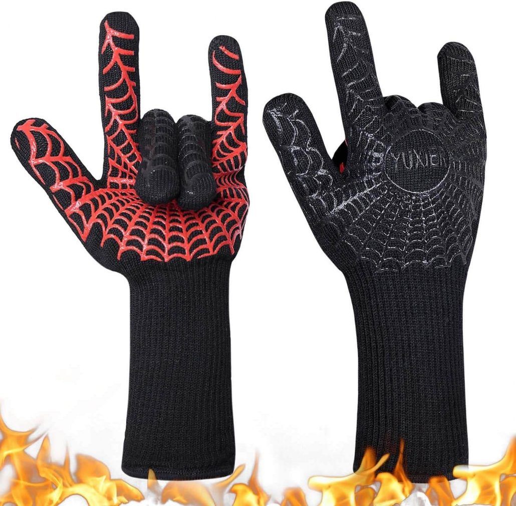 Grilling gloves by Yuxier.