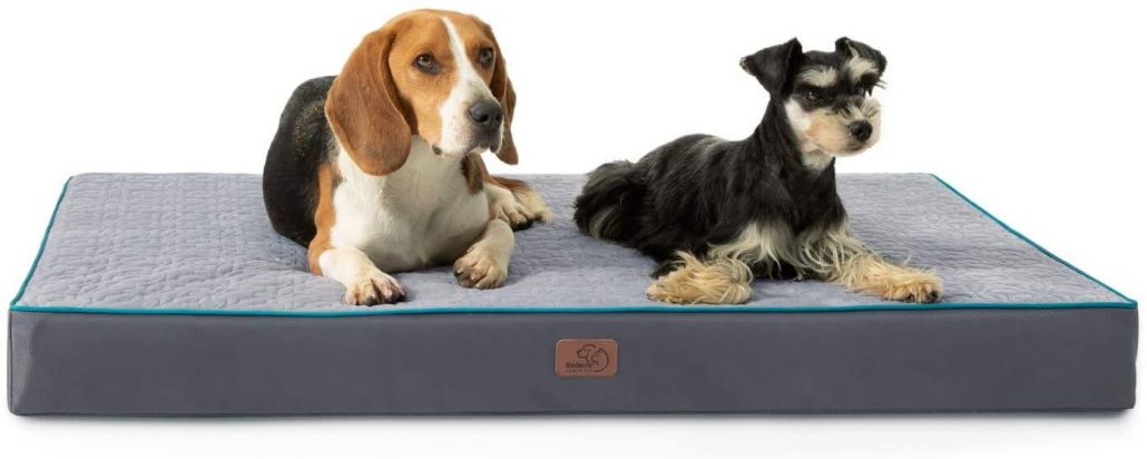 Durable orthopedic dog bed by Bedsure.