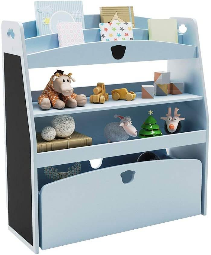Bestier kids toy and book storage shelf.