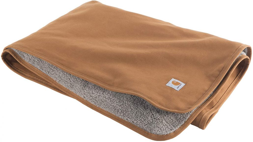Tough and durable dog blanket by Carhartt.
