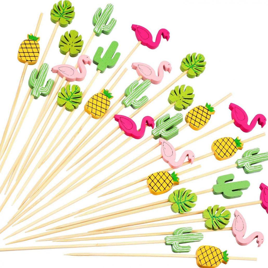 Fun cocktail toothpicks by Blulu.