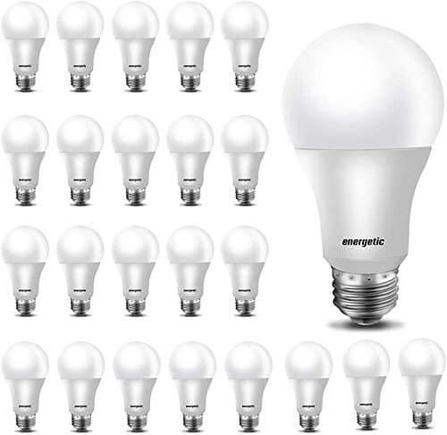 LED bulbs by Energetic Smarter Lighting, 24 pack.