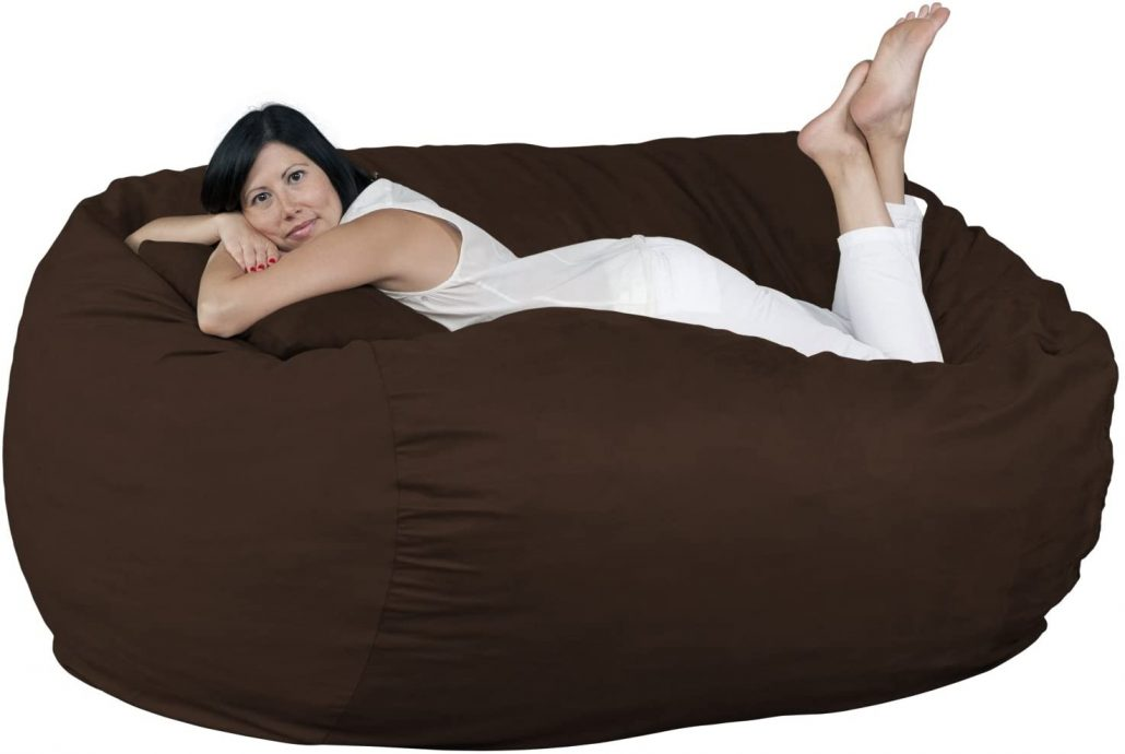 Fugu extra large giant bean bag chair for adults.