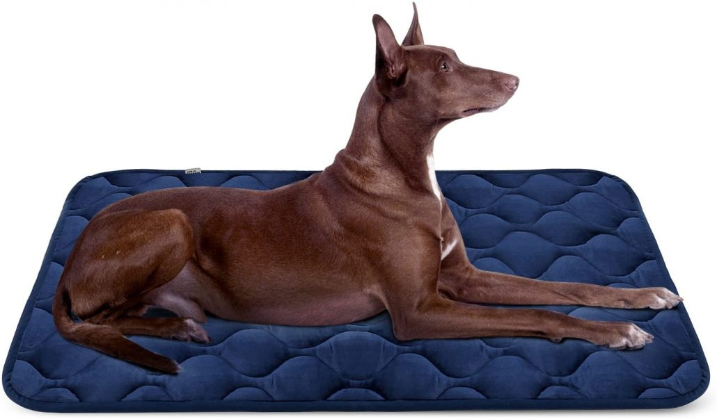 Durable dog bed mat by Hero.