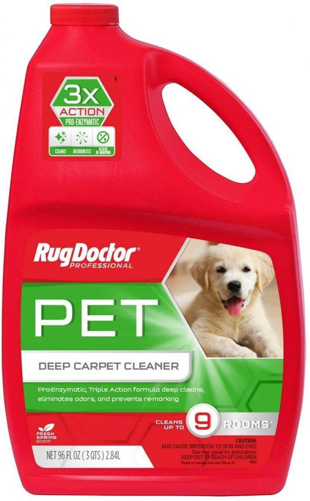 Rug Doctor Triple Action Pet Carpet Cleaner.