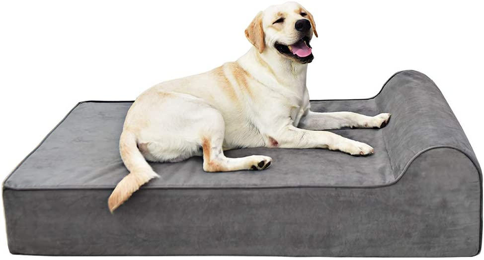 Extra large dog bed by Wisita.