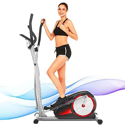 Elliptical machine for home gym by Ancheer.