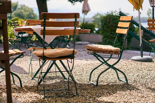 Are outdoor cushions machine washable?