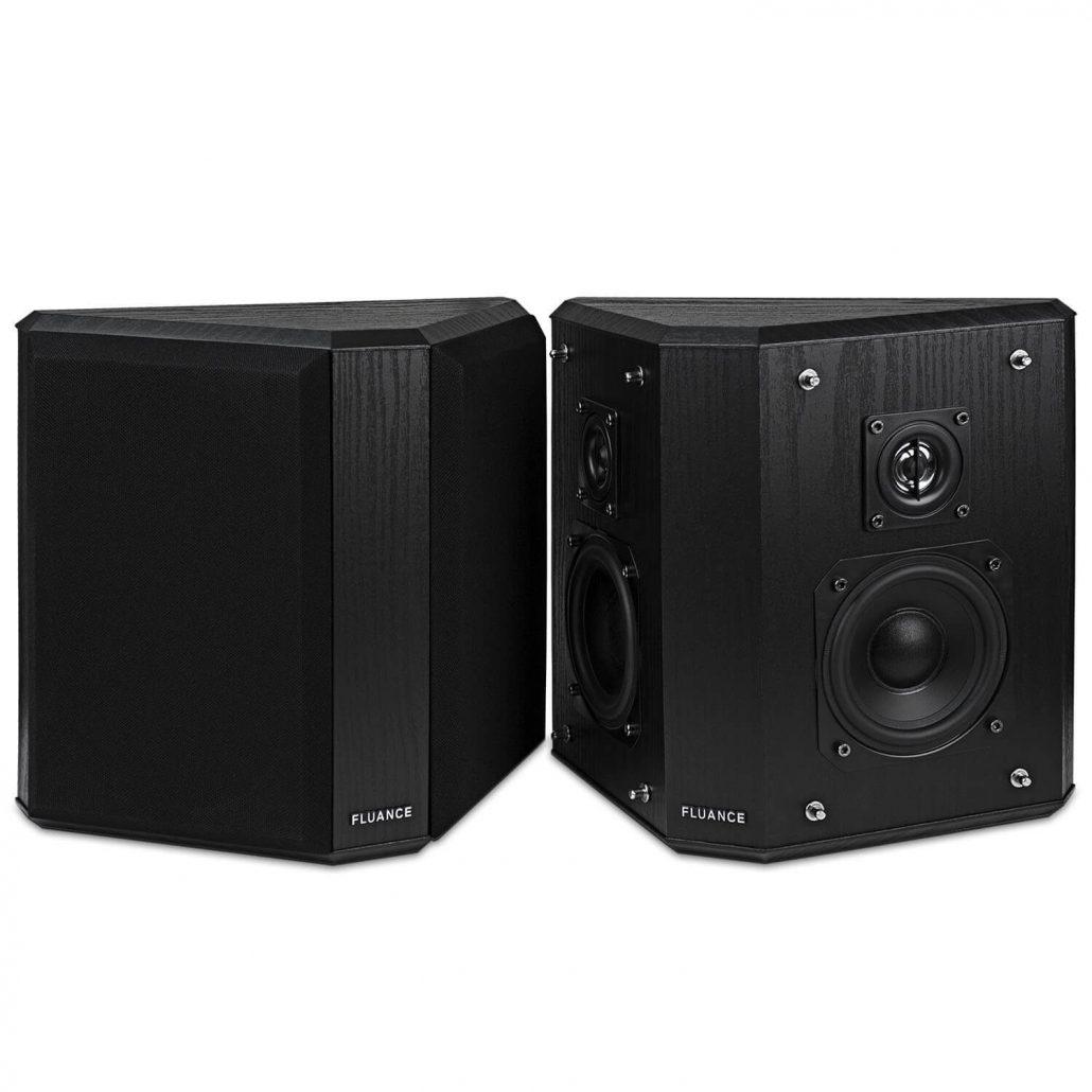 Fluance surround sound home speakers.