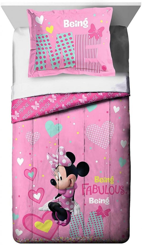 Disney Minnie Mouse kids bed set by Franco Manufacturing.