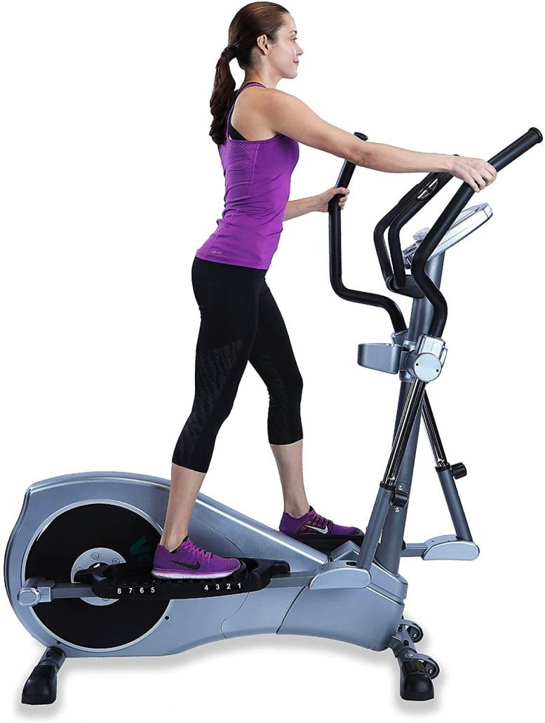 Home gym elliptical machine by GeoElliptical.