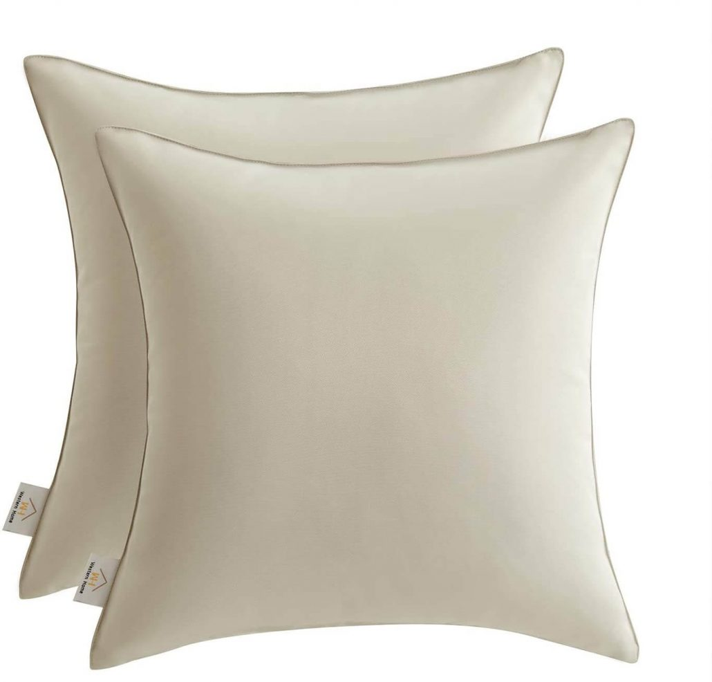 Joyaco outdoor pillow covers.