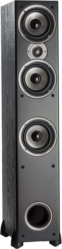 Home floorstanding speaker by Polk Audio.