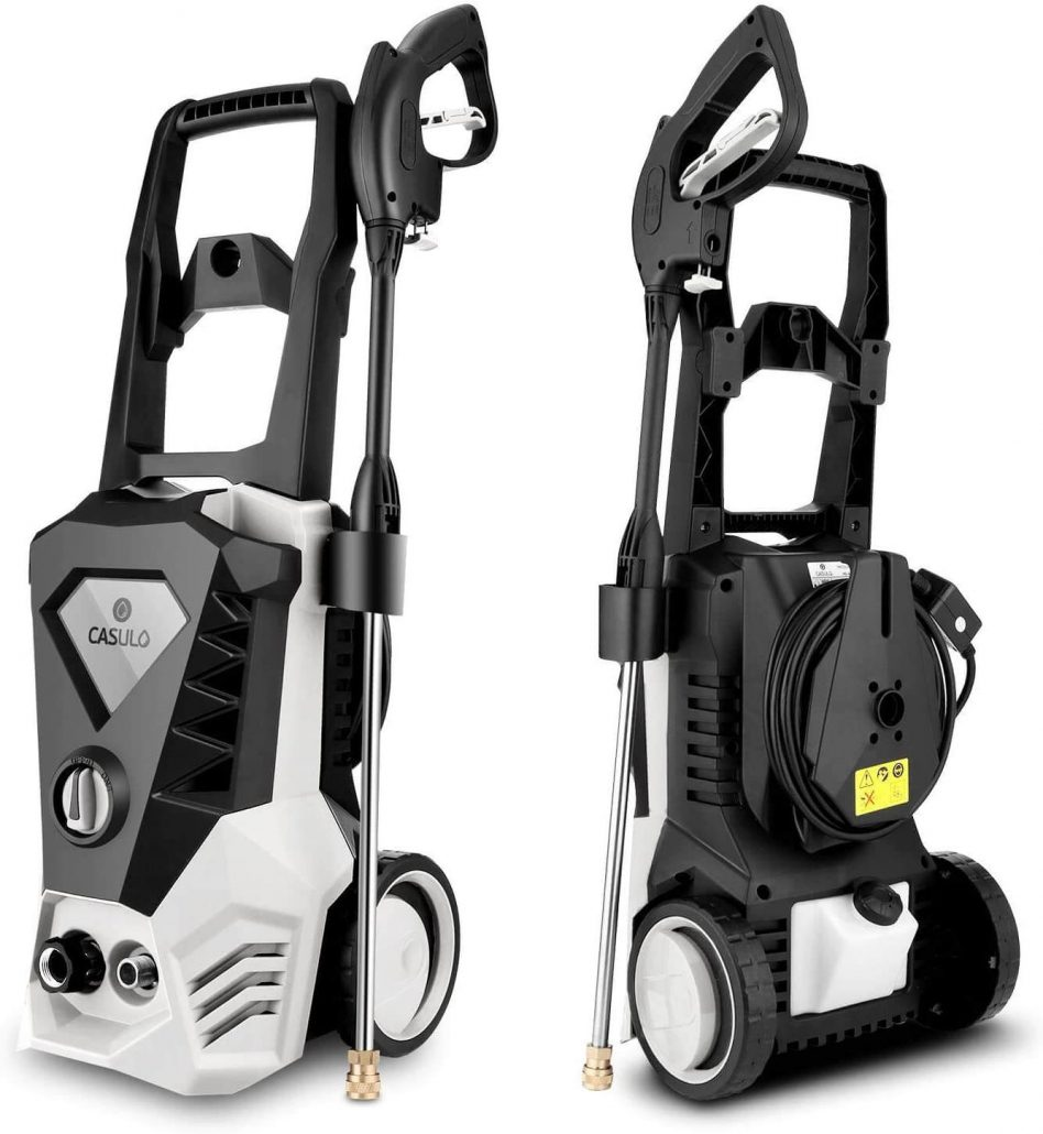 High pressure washer by Roojer.