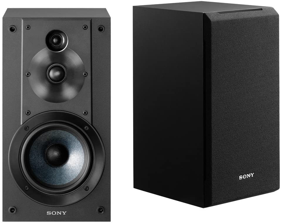 Sony home bookshelf speaker system.