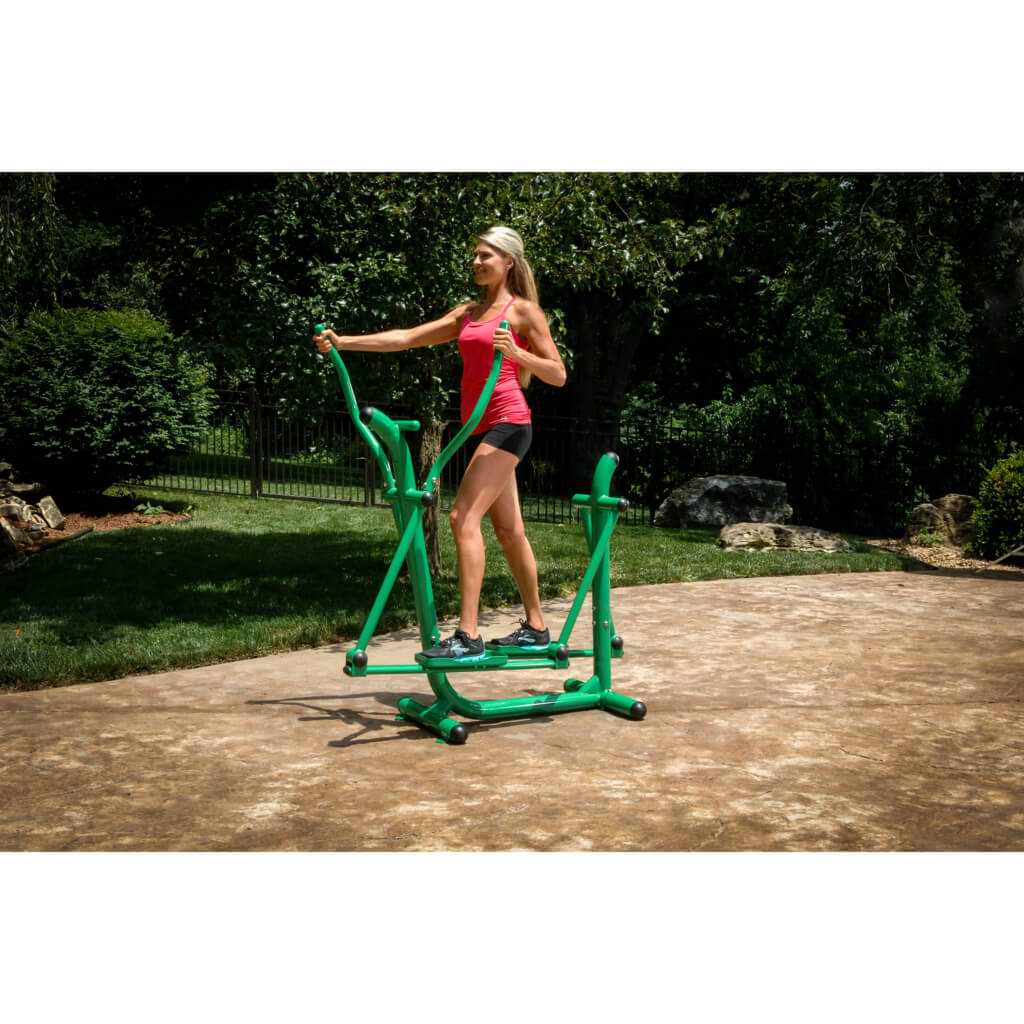 Outdoor elliptical machine by Stamina.