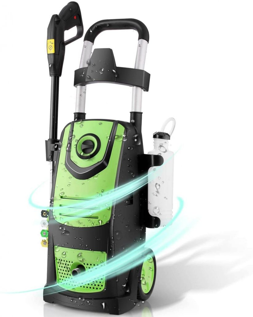 Electric pressure washer for home use by Suncyll.