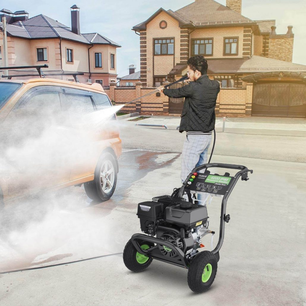 Gas pressure washer for home use by Teande.