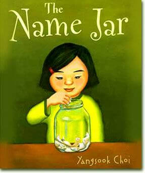 The Name Jar by Yangsook Choi multicultural children's book.