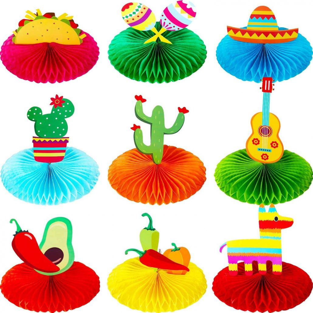 Fiesta party decorations for adults.