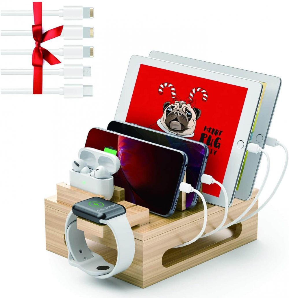 Charging station and electronic organizer for home.