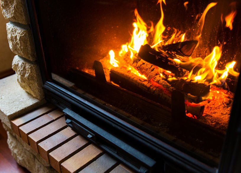 Check your fireplace to make sure it's working properly before winter comes.