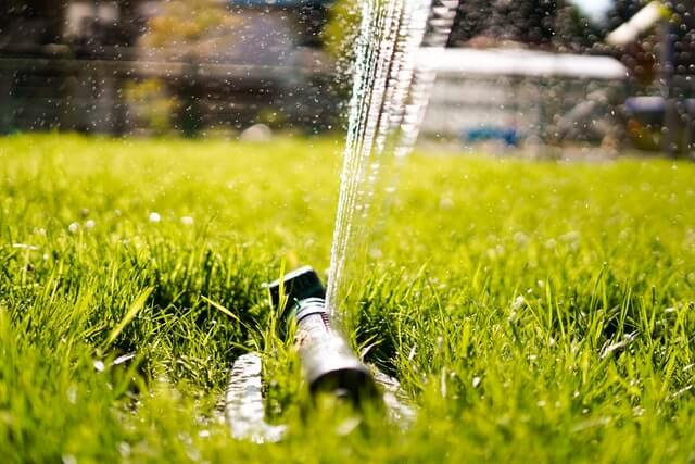 Drain your sprinkler system as part of your fall home maintenance checklist.