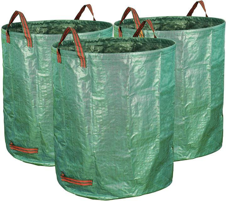 72 gallon gardening bags three pack by Gardzen.