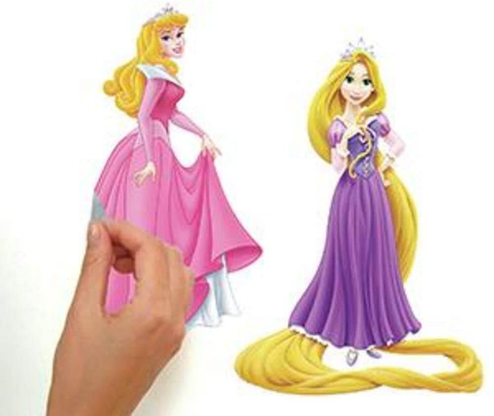 Disney princess wall decals for girls room by RoomMates.