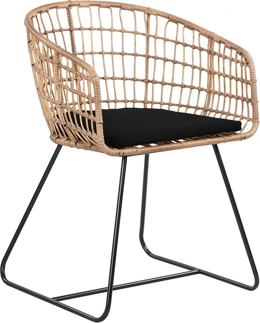 Rattan lounge chair by Tommy Hilfiger.