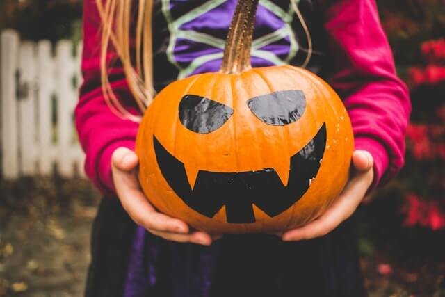 When should you start putting up Halloween decorations?