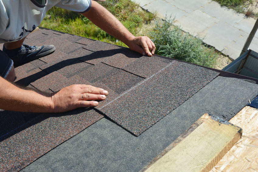 Make sure to inspect your roof to check for any loose shingles.