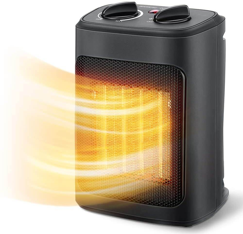 Electric space heater by Aikoper.