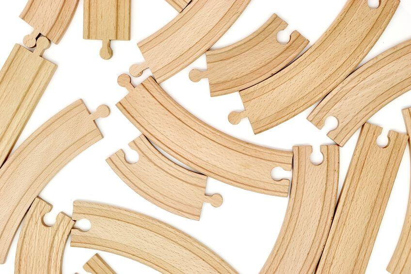 Are all wooden train sets compatible?