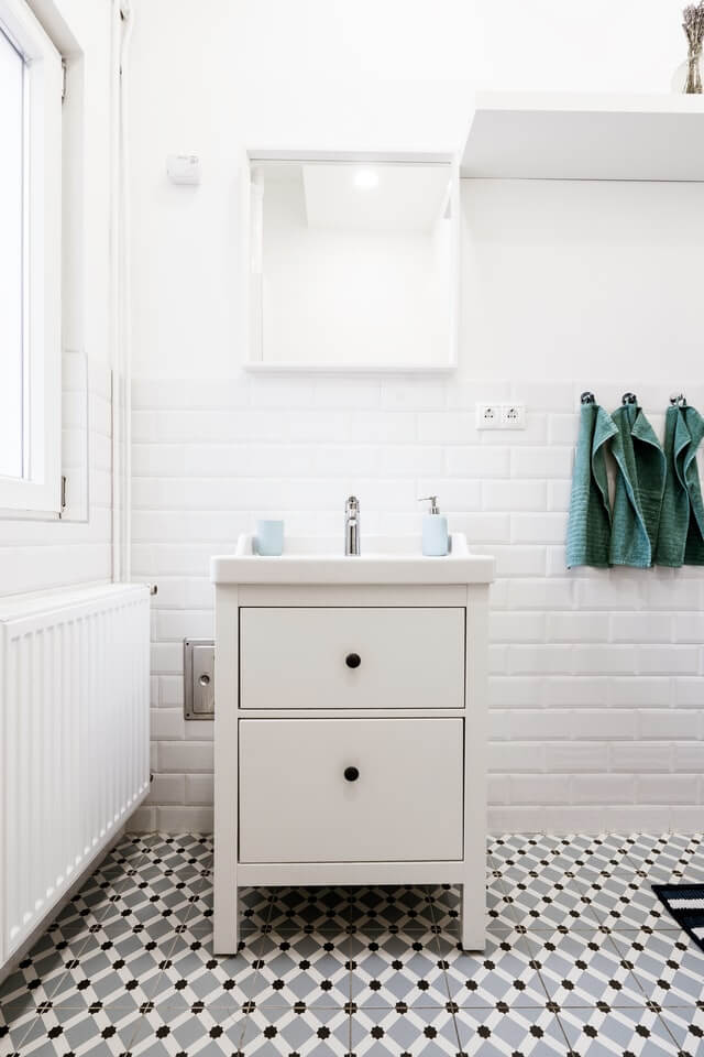 Buying used whenever possible will help you stay within your budget for your bathroom remodel.