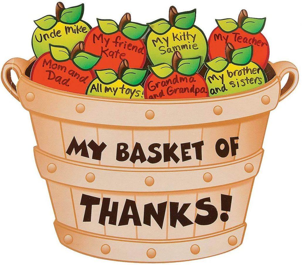 Bushel of Thanks Thanksgiving craft kit for kids.
