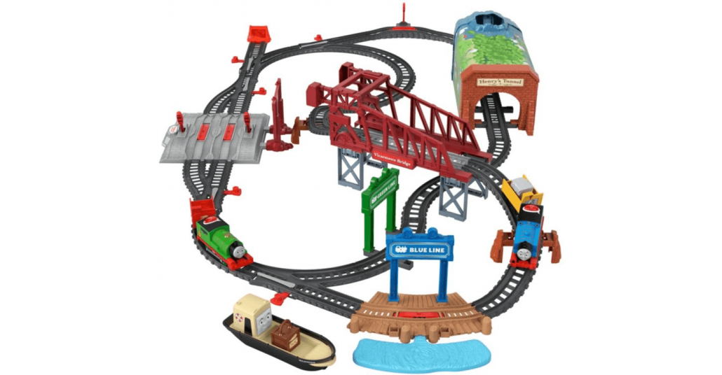 Thomas and Friends train set by Fisher-Price.