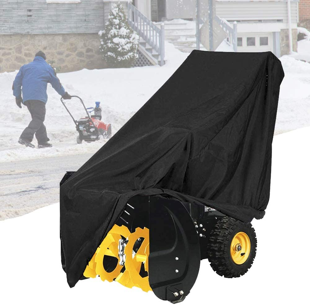Snow thrower cover by Flymei.