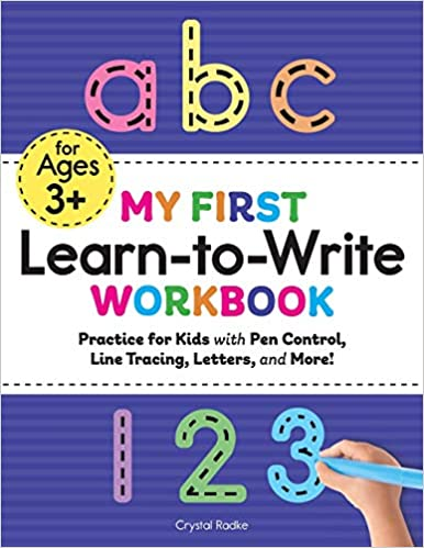 My First Learn to Write Workbook educational toy for toddlers.